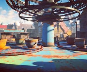 fallout, rusted, and nuka world image