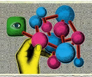 art, illustration, and science image