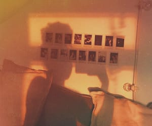 aesthetic, shadow, and polaroid image