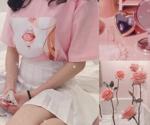 aesthetic, outfit, and rose image