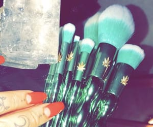 beauty, weed, and cosmetic image
