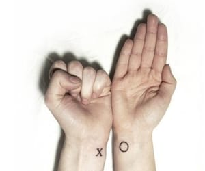 tattoo, xo, and x image