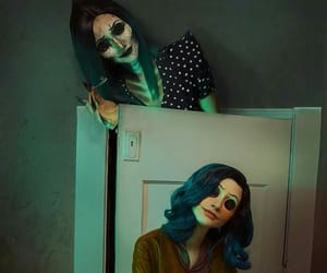 animation, coraline, and cosplay image