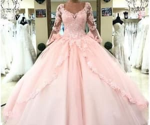 sweet 16 dress, pink quinceanera dress, and ball gowns prom dresses image