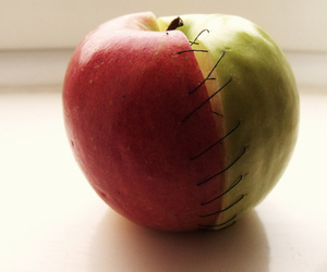 apple and girl image