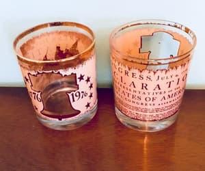 etsy, patriot, and vintage barware image