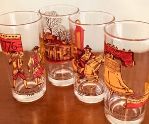etsy, vintagebarware, and independence day image