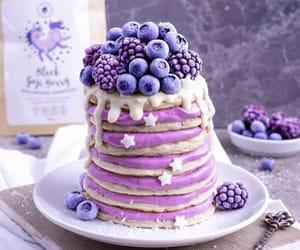 art, cute food, and purple image