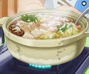 anime, delicious, and soup image