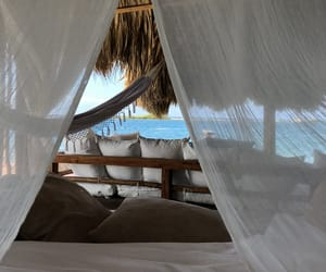 canopy bed, Caribbean, and inspo image