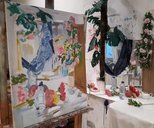 art, botanic, and paradise image