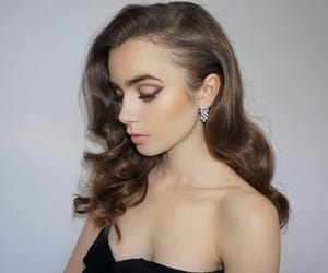 girl, glam, and glamour image