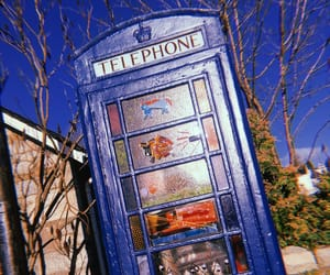 art, colourful, and postbox image