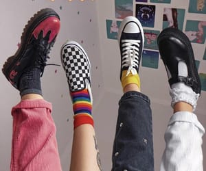 shoes, aesthetic, and vans image