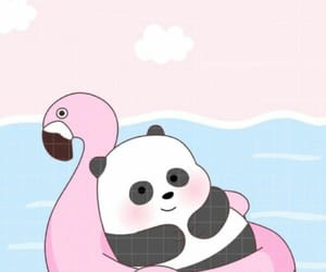 panda, cartoon, and we bare bears image