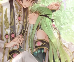 anime, code geass, and c.c. image
