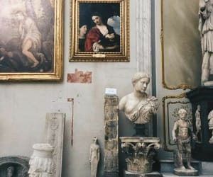art, museum, and sculpture image