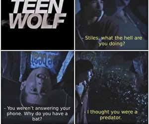 scott, stiles, and teenwolf image