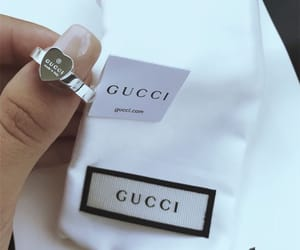 gucci, ring, and fashion image