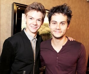 the maze runner, dylanobrien, and thomas brodie sangster image