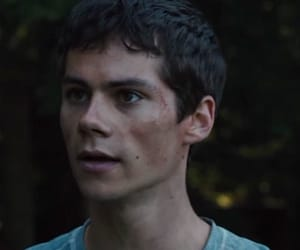 thomas, the maze runner, and dylanobrien image