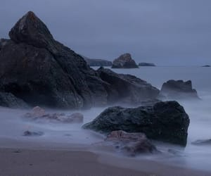 blue, rocks, and cold image