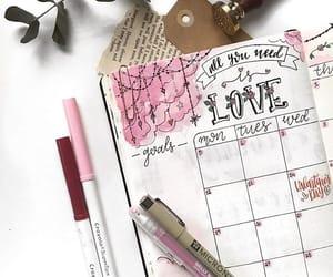 february, pink, and setup image
