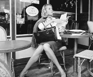 1960s, cafe de flore, and old hollywood image