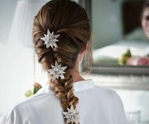 braid, hairdo, and jewelry image