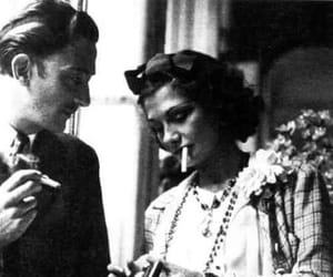 coco chanel, salvador dali, and chanel image