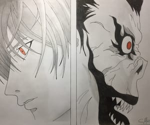 anime, light, and deathnote image