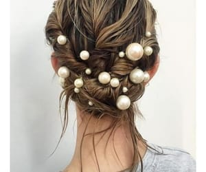 pearls and wedding image