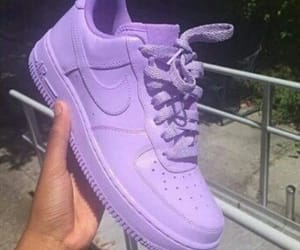custom, lilac, and nike image