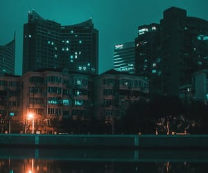 city and night image