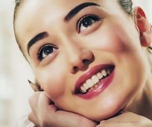 turkish actress, fahriye evcen, and turkish drama image
