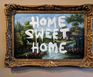 home and painting image
