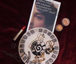 aesthetic, book, and eyeshadow image