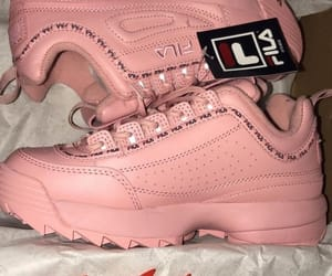 Fila, nails, and sneakers image