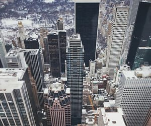 city, new, and skyscrapers image