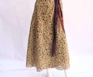 etsy, recycled fabric, and indian wrap skirt image