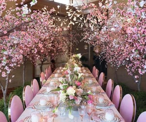 pink and decoration image