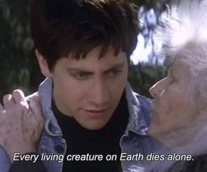 donnie darko, quotes, and die image