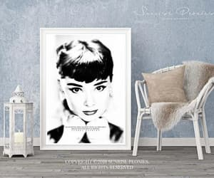 black and white, etsy, and instant download image