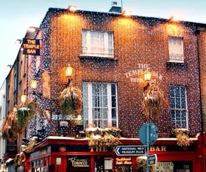 winter, christmas, and dublin image