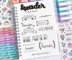 doodle, header, and planner image