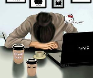 coffee, study, and exam image