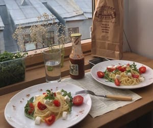 food, aesthetic, and pasta image