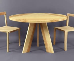 contemporary design, round table, and modern table image