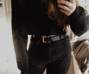 black, inspiration, and outfit image