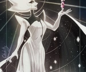 white diamond, steven universe, and stevenuniverse image